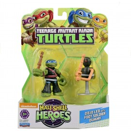 Teenage Mutant Ninja Turtles Dojo Leo with Foot Dummy