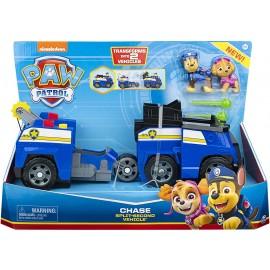 PAW Patrol Veicolo Split-Second 2 In 1, Auto della Polizia di Chase di Spin Master 6055931