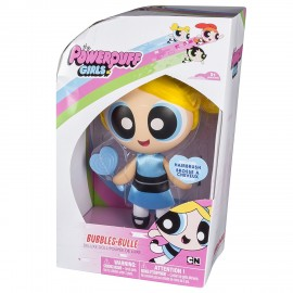 Powerpuff Girls 6028028 - Bambola Pettinabile BUBBLES - BULLE - DIMENSIONE SCATOLA 10,7 x 17,8 x 25,4 cm