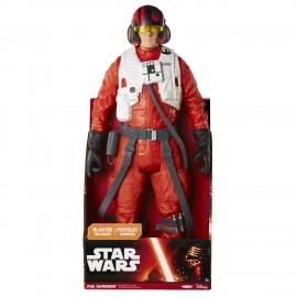 Star Wars Il Risveglio della Forza, Personaggio Gigante Poe Dameron,50 cm di Giochi Preziosi