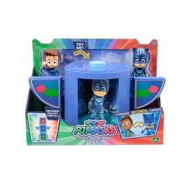Super Pigiamini Pj Masks Camera di Trasformazione in Super Eroe, Connor e Gattoboy di Giochi Preziosi PJM17000