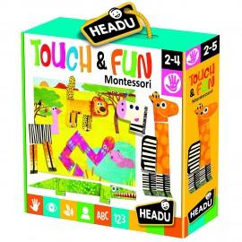 Headu Montessori Touch & Fun - sagome tattili e modulari