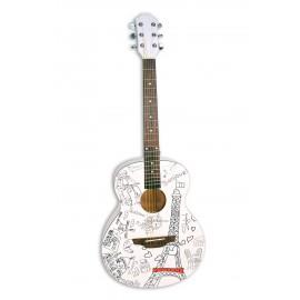 NUOVA  Bontempi 23 8511 - Chitarra in Legno  MUSIC ACADEMY WOODEN GUITAR