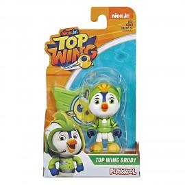 Top Wing: personaggio Brody 7,5 cm con distintivo di Hasbro E5283