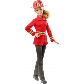 Barbie DHB23 - Bambola Barbie Pompiere