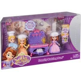Disney Small Doll Sofia baking fun con i suoi fratelli Amber e James BDK49 - 50  di Mattel
