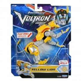 Voltron Yellow Lion  Figura Base di Giochi Preziosi