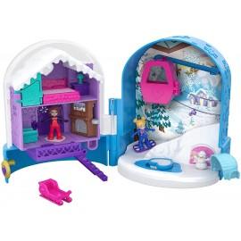 Polly Pocket - Nuovo Cofanetto con 2 Polly, 1 Micro-Veicolo di Mattel FRY37
