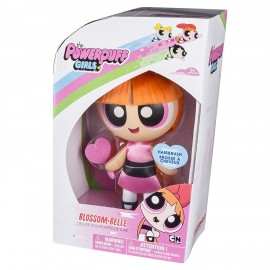 Powerpuff Girls 6028028 - Bambola Pettinabile BLOSSOM- BELLE - DIMENSIONE SCATOLA 10,7 x 17,8 x 25,4 cm