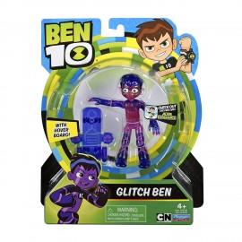 Ben 10 - Glitch Ben figura base articolata di Giochi Preziosi