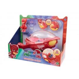 Super Pigiamini Pj Masks Veicolo Gufaliante con Luci e Suoni, Personaggio Gufetta Incluso di Giochi Preziosi