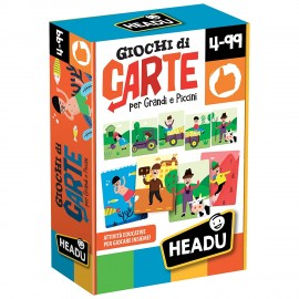 Giochi di Carte per Grandi e Piccini  Montessori IT20164 di Headu IT21918