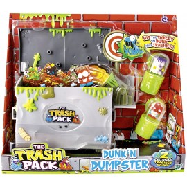Trash Pack, cassonetto della spazzatura con due mostri immondizia