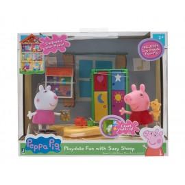 Peppa Pig - La camera dei giochi, Suzy e Peppa, Giochi Preziosi PPC43000