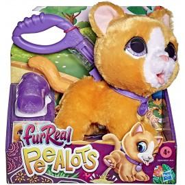 FurReal Peealots (Peluche Gattino interattivo Che passeggia e Fa la pipì), Hasbro E8949-E8931