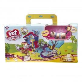 Play Garden Pet Parade Gatti Playset di Giochi Preziosi PTC02111