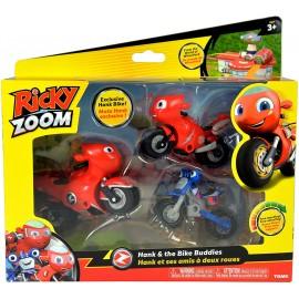 Nuovo Ricky Zoom -in blister con personaggi Moto Hank il genitore - Ricky Zoom  -  Loop lunghe circa 9 cm cod rcy 02000