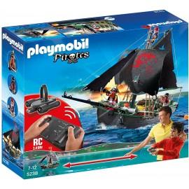 Playmobil 5238 - Veliero dei Pirati RC con Motore Subacqueo