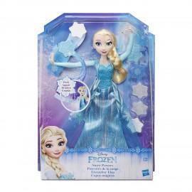 Disney Frozen - Elsa Lancia Cristalli Di Ghiaccio B9204 di Hasbro