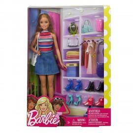 Mattel - Barbie con accessori di Mattel  FVJ42