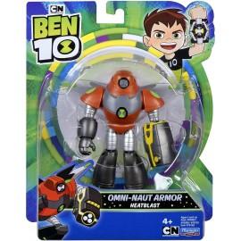 Ben 10 Action Figures-Space Armor Heatblast, Giochi Preziosi BEN58000