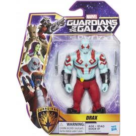 Guardiani della galassia personaggio articolato Drax di Hasbro B6666-B6662