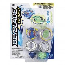 Beyblade Burst Dual Pack Valtryek and Unicrest B9492 B9491 HASBRO