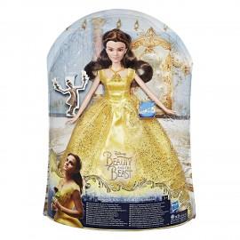 Disney Princess - Bambola La Bella e la Bestia Magica Cantante B9165 Hasbro