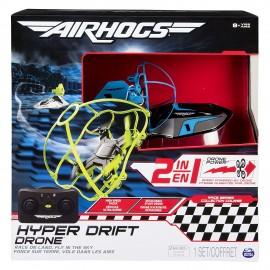 Air Hogs Hyper Drift Drone R/C, Blu di Spin Master 6040078