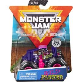 Monster Jam  - Truck  Wild Flower in Scala 1:64
