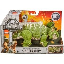 Jurassic World - SINOCERATOPS  Dinosauro con Suoni di Mattel FMM31