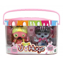 U-Hugs  - Bambola Cat e Dog di Giochi Preziosi UHU16000