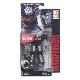Transformers Generations Legends Titans Return- Rewind B7771-B5612 di Hasbro