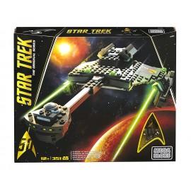 Star Trek, Set Costruzioni Incrociatore da Battaglia Klingon D7 di Mega Bloks DPH80