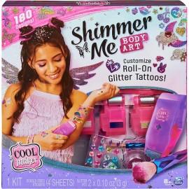 Cool Maker, Shimmer Me Body Art con rullo crea Tatoo di Spin Master 6061176