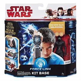 Star Wars - Kylo Ren Personaggio Action Figure e Kit Base Bracciale Guanto Tecnologia Forcelink di Hasbro C1364