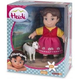 Heidi Personaggio con la sua capretta, 17 cm di Famosa 700012250