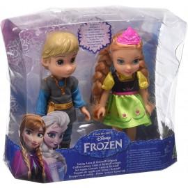 Frozen: Anna e Kristoff Mini Bambole, Altezza 15 cm