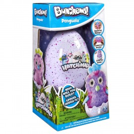 Bunchems Hatchimals Pinguino nell' Uovo di Spin Master 6041479