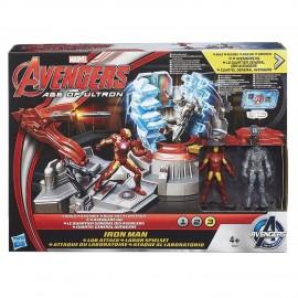 Avengers - Marvel Age of Ultron, Il laboratorio di Iron Man