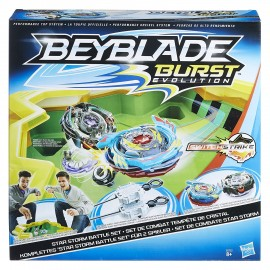 Arena Beyblade Burst Evolution Star Storm Battle Set di Hasbro E0722EU4