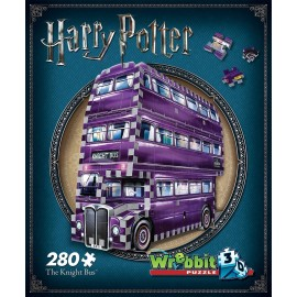 The Knight Bus Harry Potter – Il Prigioniero di Azkaban  Wrebbit Puzzle w3d-0507 , 280 pezzi, 26 x 7 x 19 cm