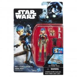 Star Wars Rebels Sabine Wren 9.5cm figura di azione B7282-B7072