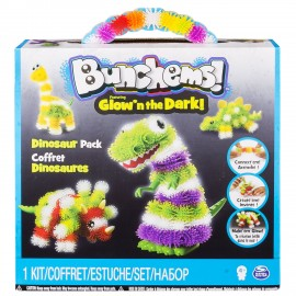 SPINMASTER Bunchems Effetto Luce Dinosauro 6028258 20073842