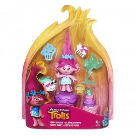 Trolls - Bambola Poppy's Party Story Pack B7351-BB6556