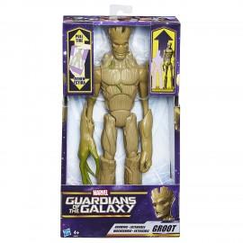 Marvel Gotg Titan Hero Groot estensibile C0075 di Hasbro