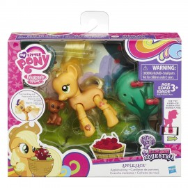 My Little Pony - Articolati con Accessorio, Apple Jack