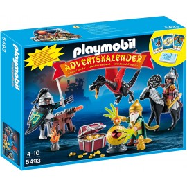 Playmobil 5493 - Calendario dell'Avvento, Battaglia per Il Tesoro del Drago