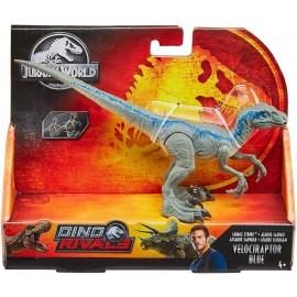 Jurassic World, dinosauro Velociraptor Blue di Mattel GCR55-GCR54
