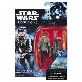 Star Wars Rogue One: Sergeant Jyn Erso 9.5cm figura di azione B7275-B7072